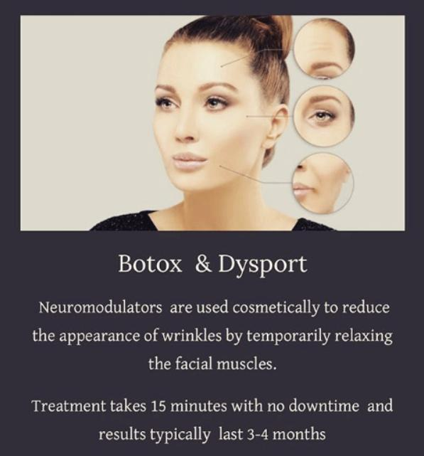 Botox and Dysport cosmetic injections in Calgary Alberta