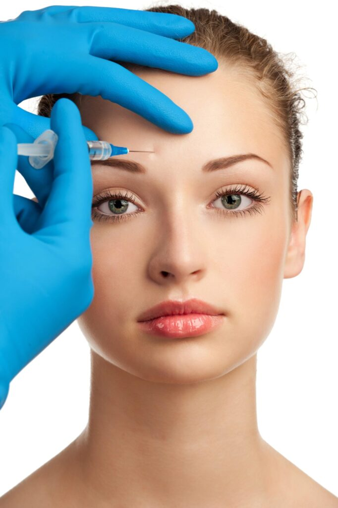 Botox injections in forehead in Calgary Alberta