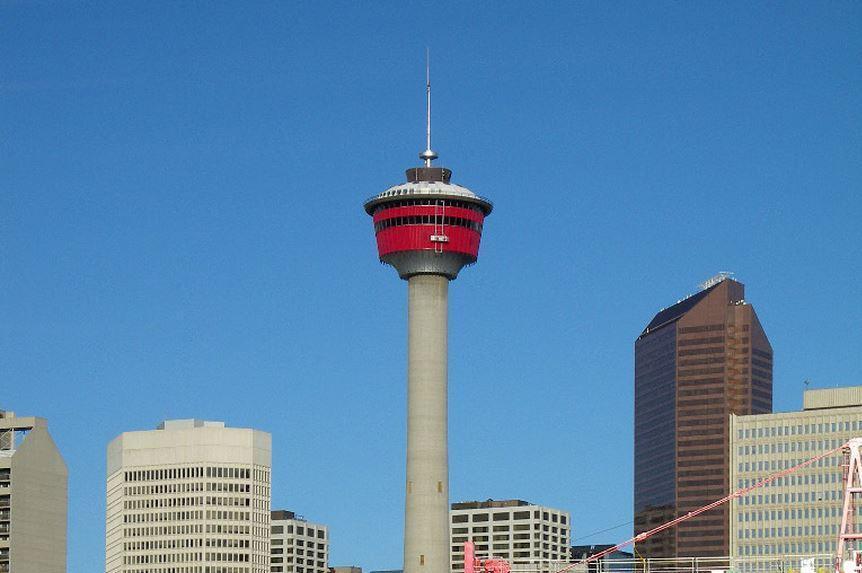 Calgary tower in Calgary, Alberta